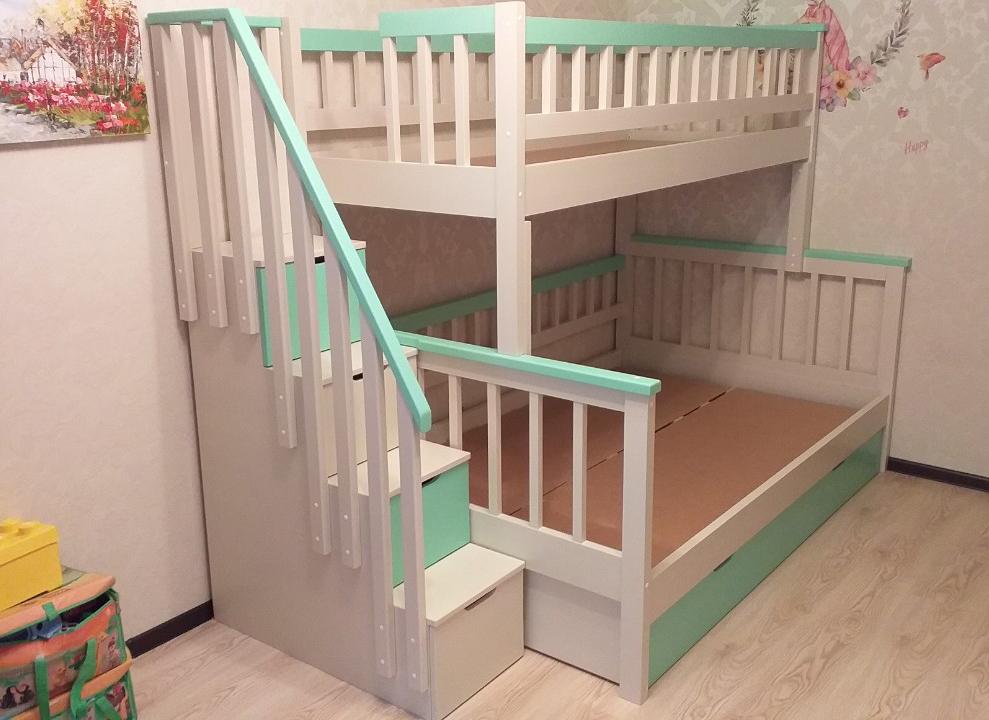 Фото Двухъярусная кровать Альтера