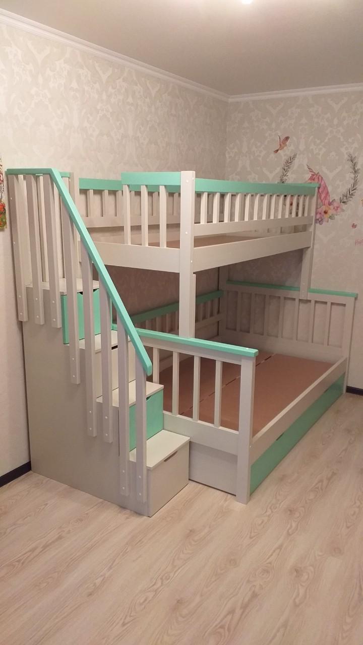 Дополнительное фото Двухъярусная кровать Альтера