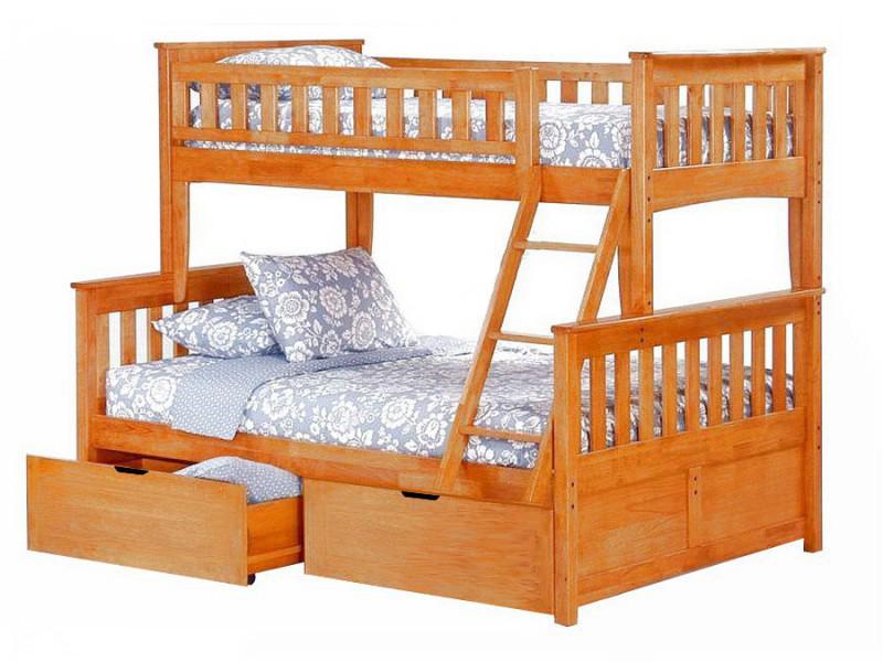 Фото Кровать двухъярусная Модерн