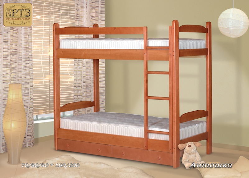 Фото Двухъярусная кровать Антошка
