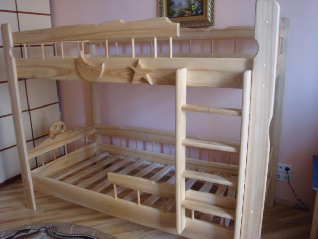 Фото Кровать двухъярусная Штиль
